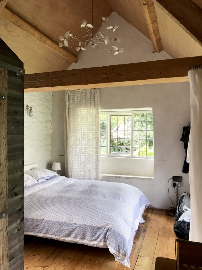 bedroom in english cottage