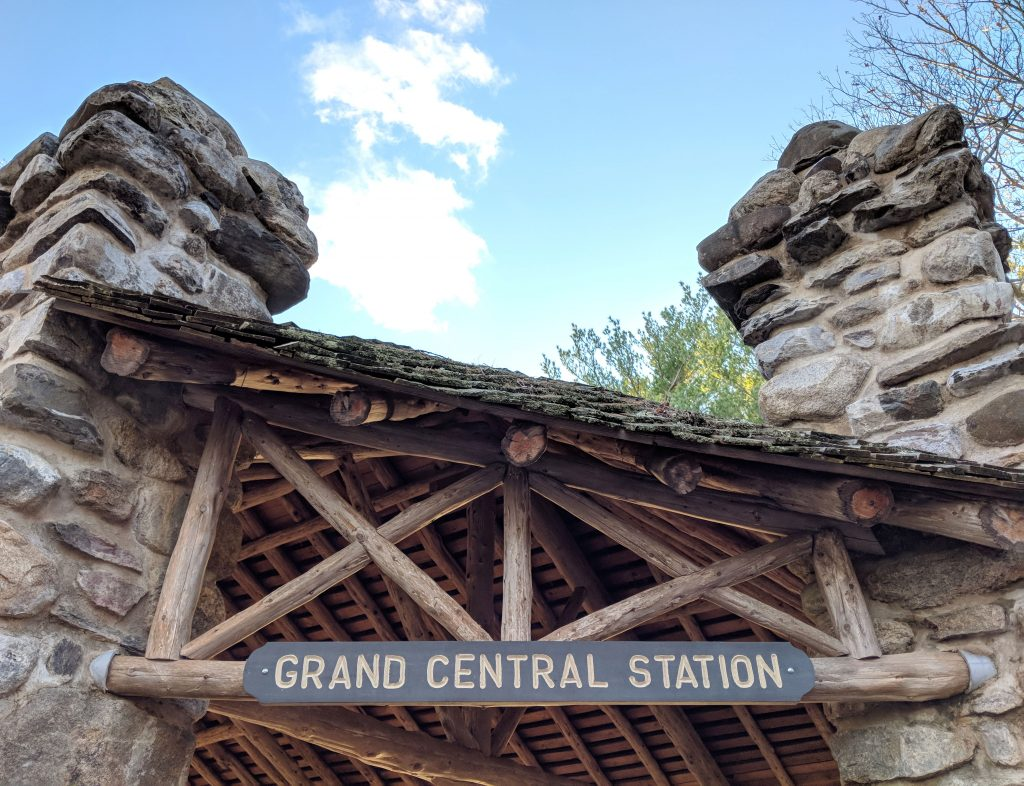 the Grand Central Station at Gillette Castle State Park