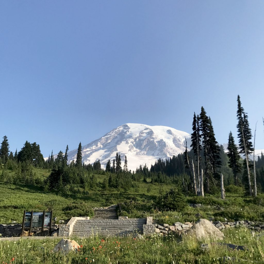 mount rainier in washington state