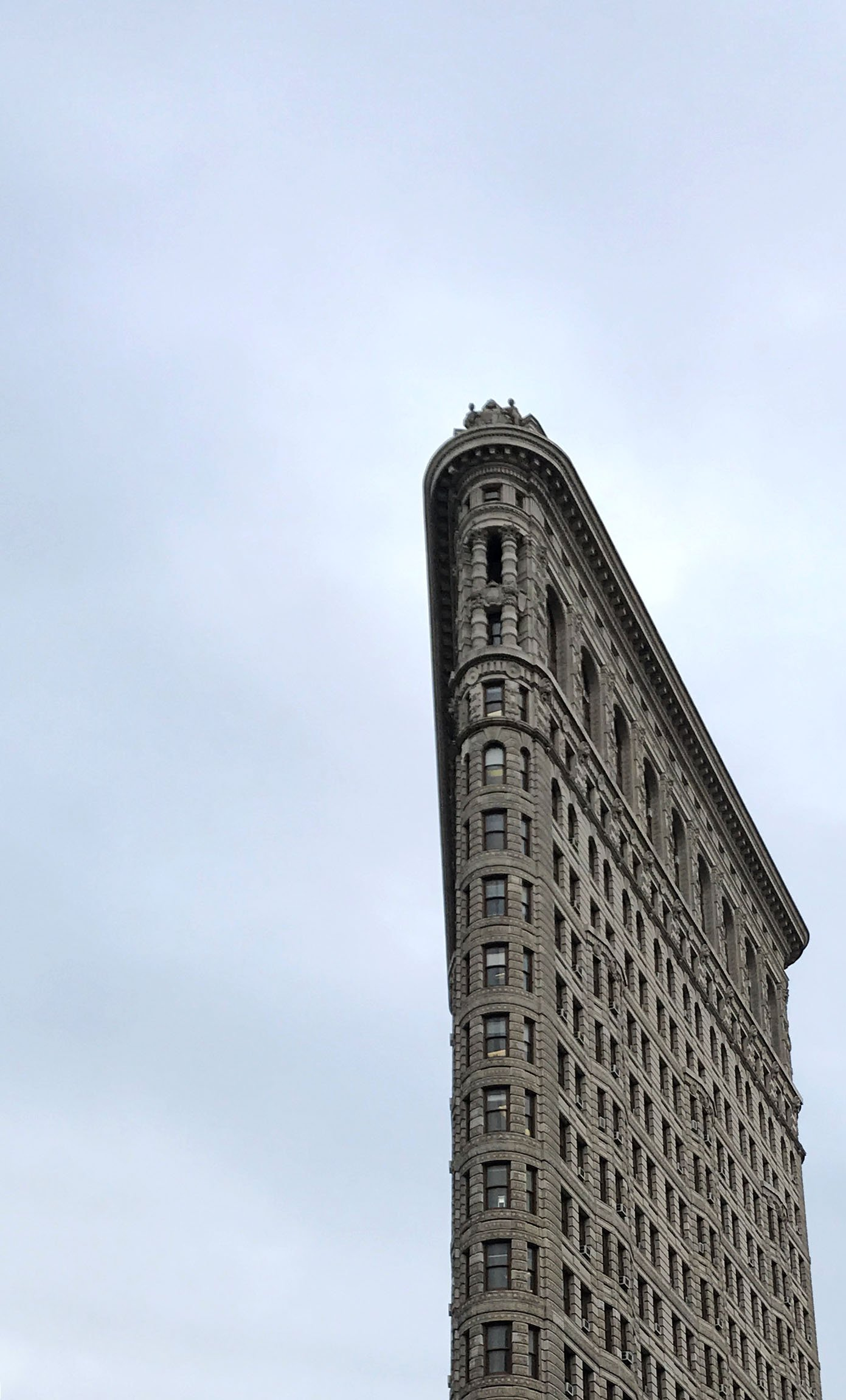 the flatiron building in New York City