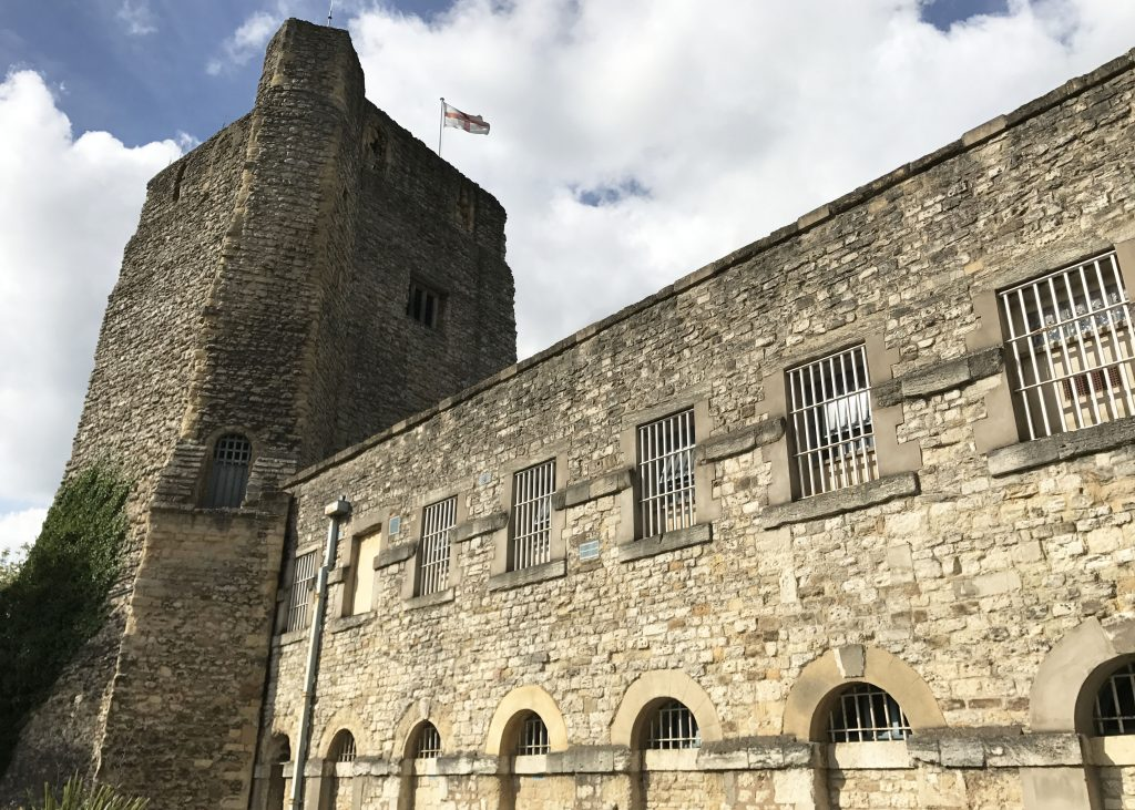 oxford castle in Oxford, England