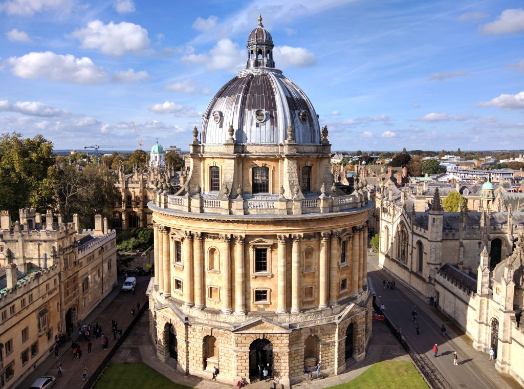 round building at Oxford University