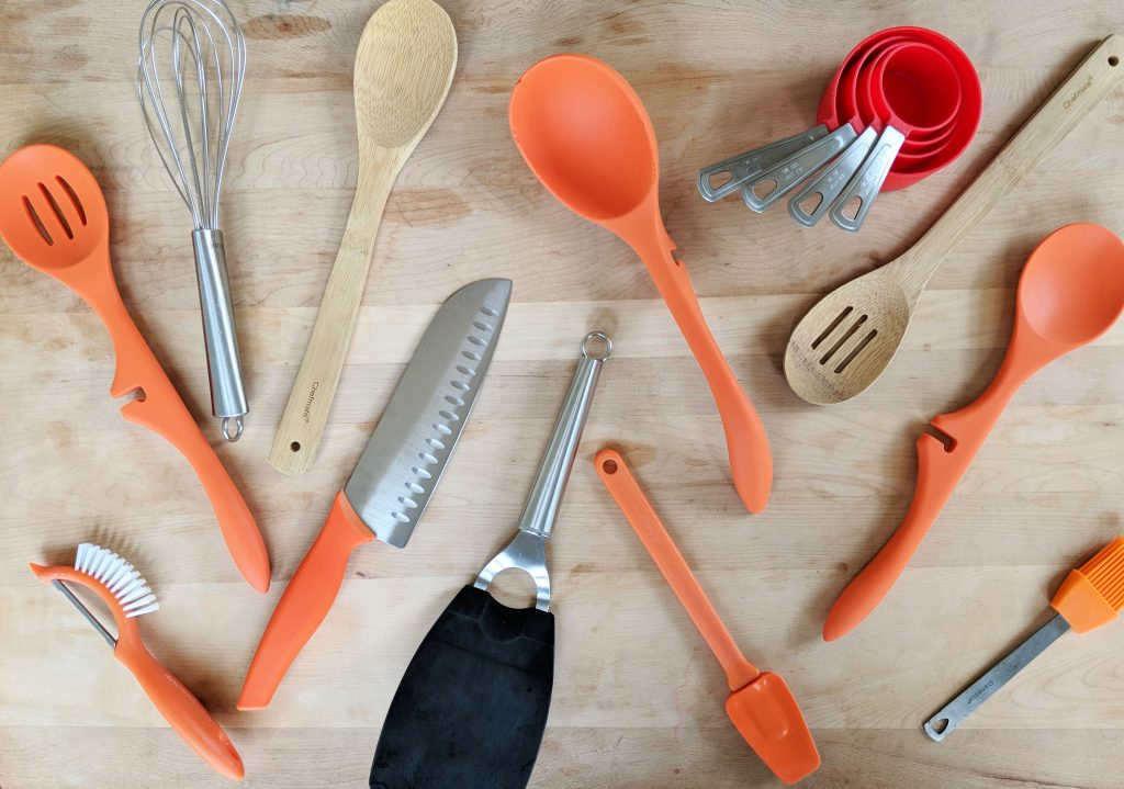 common kitchen utensils