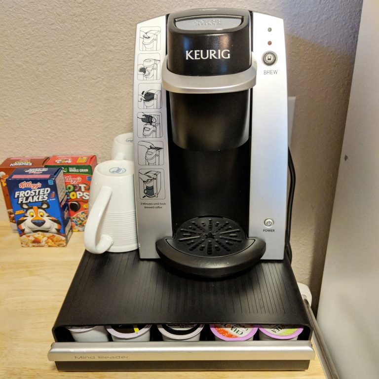 keurig machine with pods