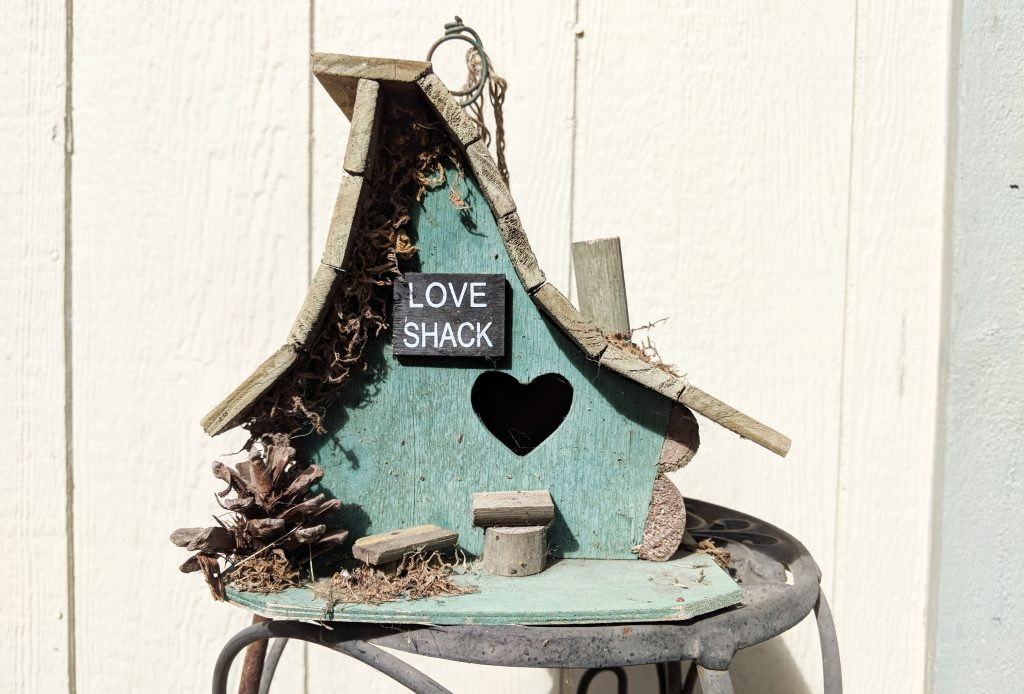 love shack bird feeder