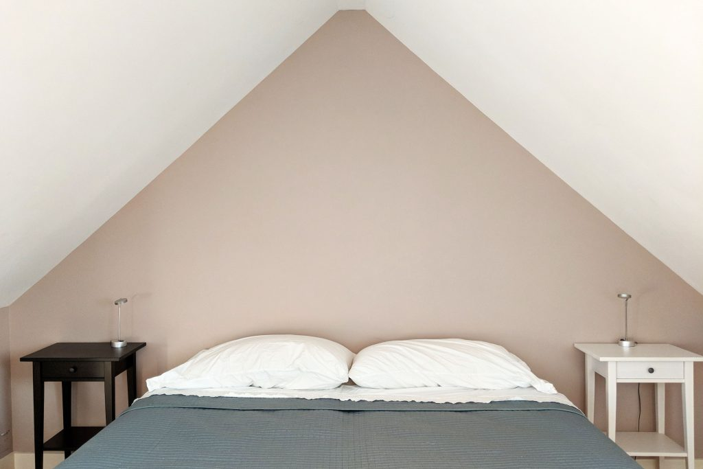beautiful bedroom in airbnb
