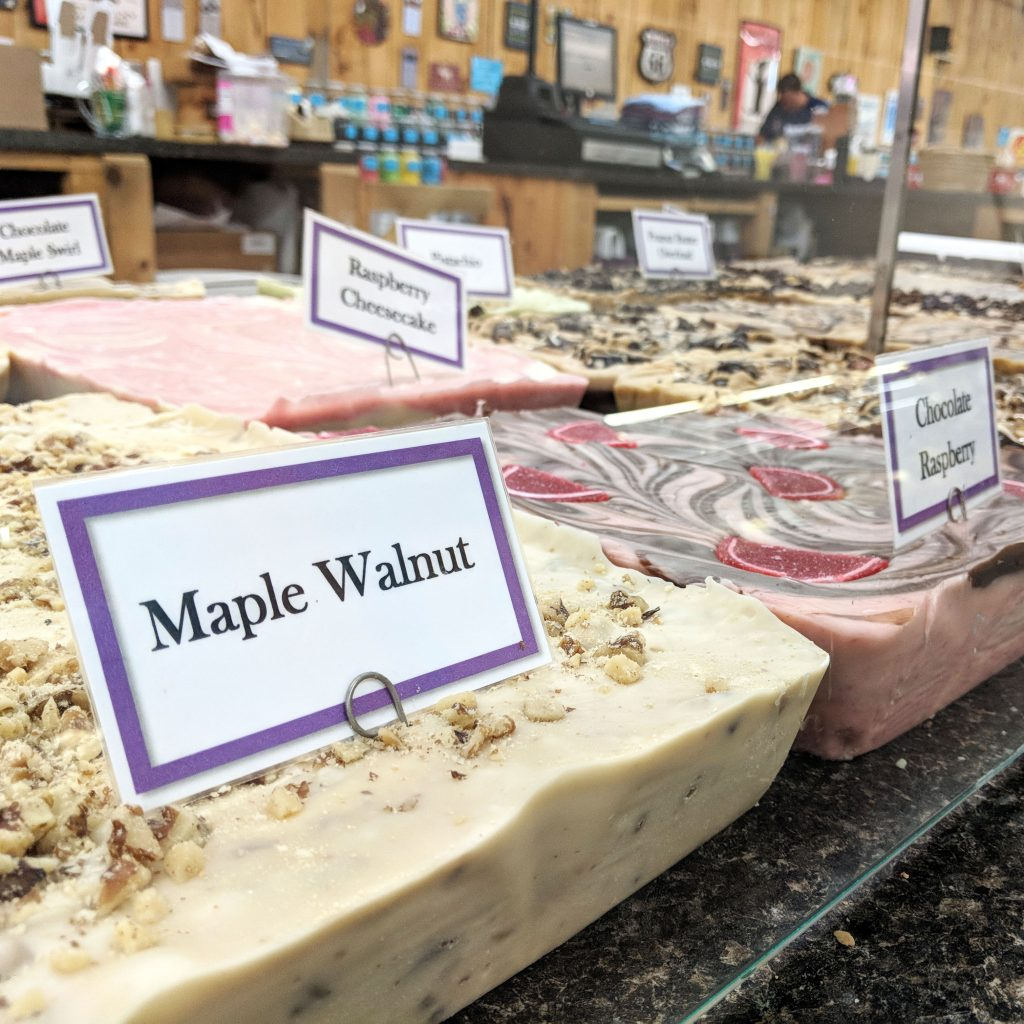 Littleton, New Hampshire - Fudge at Chutters