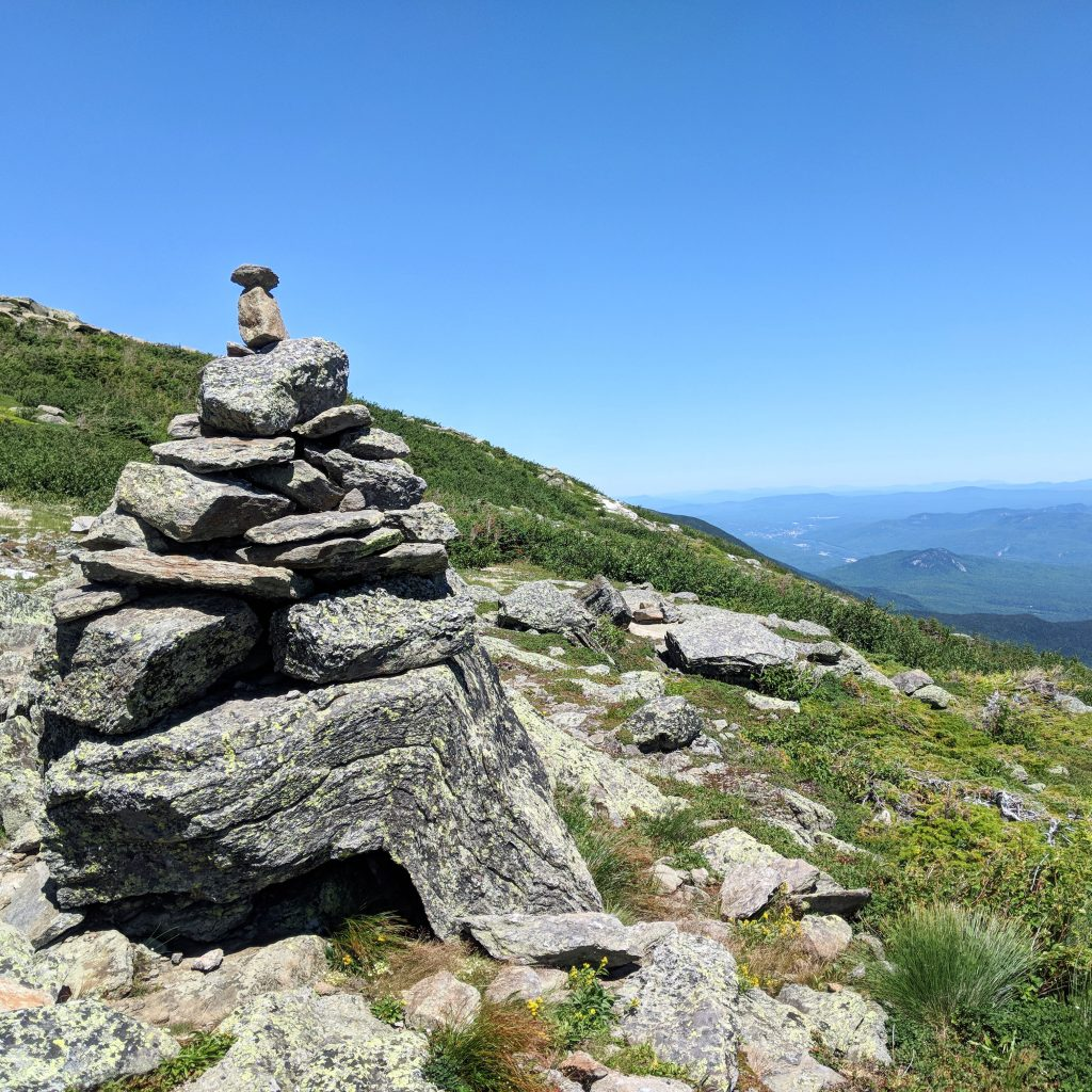 Carin off Mount Washington Auto Road