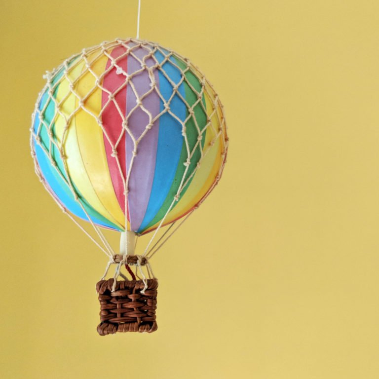 hot air ballon mobile in New Hampshire Airbnb