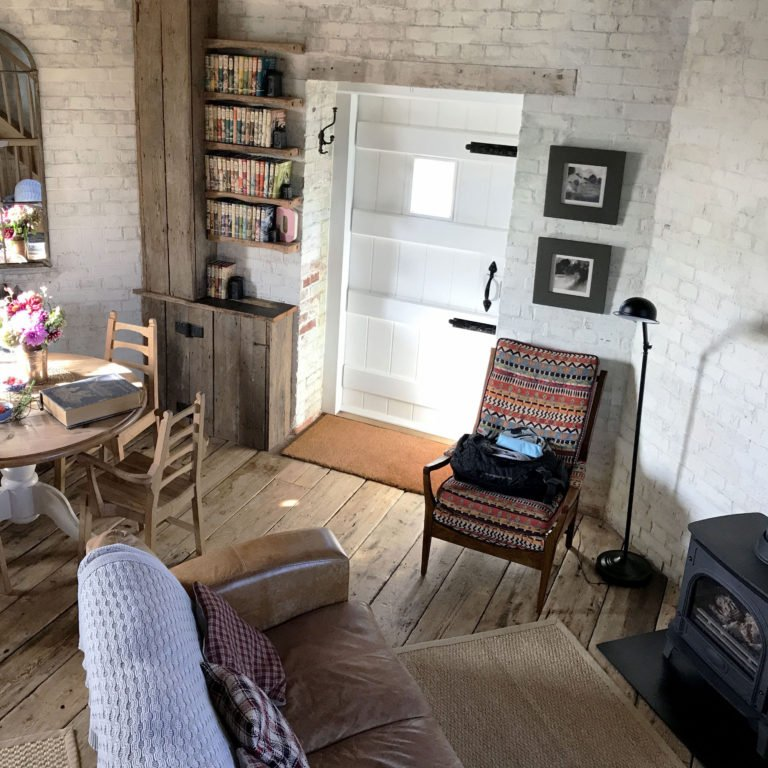 private airbnb in a windmill in the Kent countryside in England