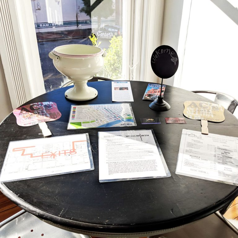 Table of welcome information for Airbnb guests