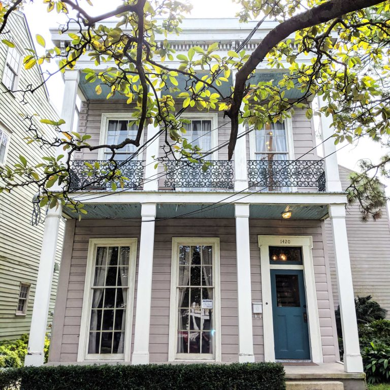 New Orleans Airbnb in the Lower Garden District