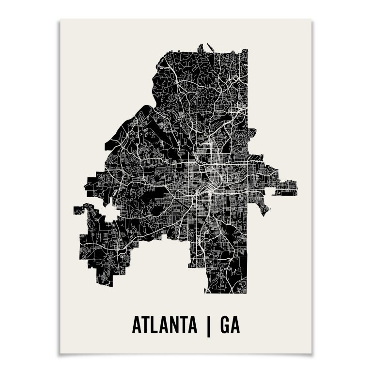 Artisan Map Airbnb Gifts